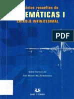 Ejercicios Resueltos de Matematicas1 Calculo Infinitesimal