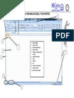 Guía 01 Ventana Principal Excel 2007