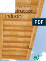 Certified Timber for the Construction Industry