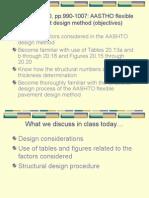 AASHTO Method of Flexible Pavement Design