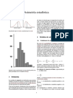 Asimetría estadística