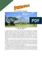 Ol Doinyo Lengai-Mountain of God