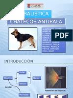 Balística II Presentación de Exposicón Sobre Chalecos Antibala
