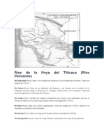 Ríos de La Hoya Del Titicaca