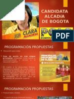 Clara Lopez Alcaldesa
