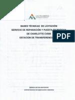 Bases Tecnicas de Licitacion