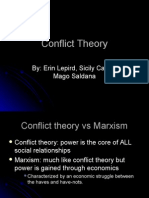 Conflict Theory of Sociology
