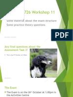 BFA726 Workshop 11 2015