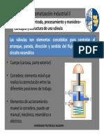 3.- Automatización II - Elementos de Entrada Procesamiento y Maniobra