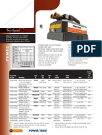 Power Team PE10 Series Pumps - Catalog