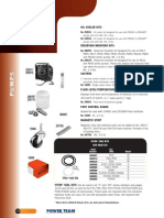 Power Team Pump Accessories - Catalog
