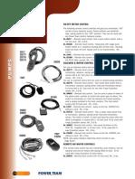 Power Team Remote Controls - Catalog