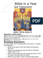 Bible in a Year 20 NT John 16 to Acts 3