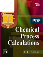 Chemical Process Calculations
