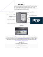 function of front panel.docx
