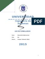 Uso de Formularios-monografia