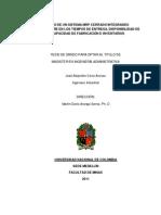 Modelo de Un Sistema MRP