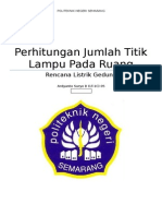 Tugas RLG , Perhitungan Jmlh Titik Penerangan
