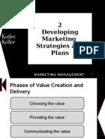 Delivering marketing strategies