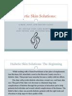diabetic skin solutions-presentation