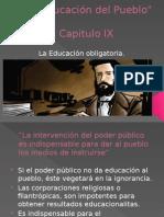 Pedagogía La Educación Del Pueblo 9