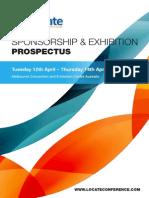 Locate16 Sponsorship & Exhibition Prospectus
