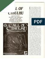 Matéria Sobre Call of Chtulhu - Dragão Brasil 04