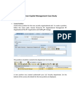 SAP HCM Case Study