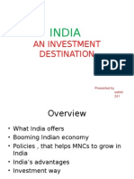 29469642 India an Investment Destination