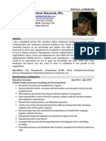 Updated Fru Magdalene CV Jan 2015