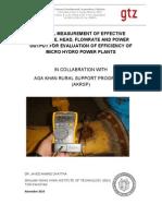 Manual for Measurement o turbine f efficiency[1].pdf