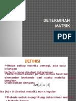Determinan Matrix