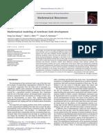 Mathematical Modeling of Vertebrate Limb Development