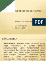 ppt Skizofrenia Hebefrenik