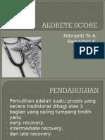 Aldrete Score