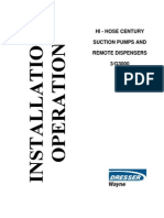 Dresserwayne Hi-hose Century Suction Pumps and Remote Dispensers 3g3000