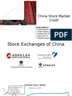 China Stock Market Crash