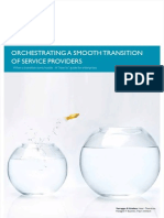 Orchestrating a Smooth Transition of Service Providers