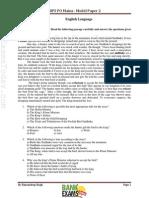 IBPS PO V - Paper 2