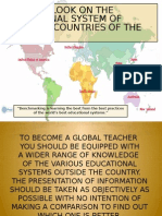 Educational Systems Around the Globe