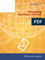 Harnessing E-mail