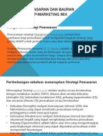 Strategi Pemasaran Dan Bauran Pemasaran 4P-Marketing Mix