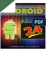 24 JAM Pintar Pemrograman Android 1