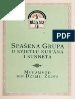 Spasena grupa u svjetlu Kur'ana i Sunneta