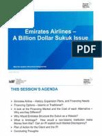 Emirates Airlines - A Billion Dollar Sukuk Issue