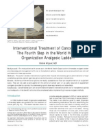 Interventional Treatment of Cancer Pain