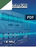 Emulator X2 Manual
