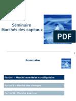 Seminaire Marchés Des Capitaux