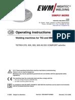 Tetrix 300 Acdc Manual