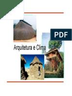 02 Clima Homem Arquitetura